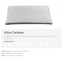 ALMOHADAS VISCO CARBONO