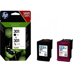 Pack hp 301 negro y color
